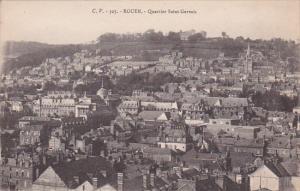 Panorama, Quartier Saint Gervais, Rouen (Seine Maritime), France, 1900-1910s
