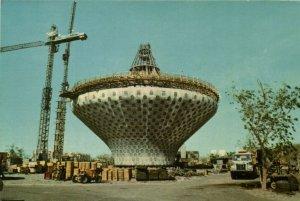 PC CPA SAUDI ARABIA, JEDDAH, WATER TOWER, Modern Postcard (b15900)
