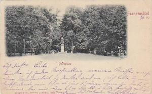 Parkplatz, Franzensbad, Czech Republic, PU-1899