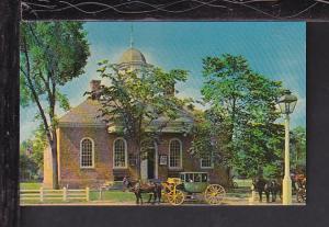 Old Court House,Williamsburg,VA Postcard BIN