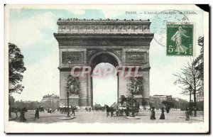 Old Postcard Paris L & # Triumph 39Arc I & # 39Etoile