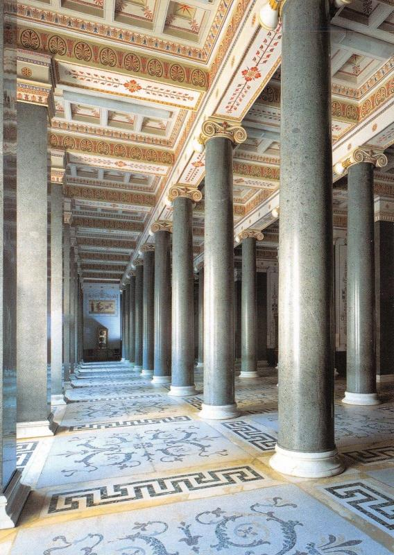 St Petersburg Russia Postcard, The Hermitage, The Twenty Column Hall Y13