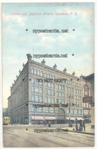 Salina & Jefferson Streets, Syracuse NY