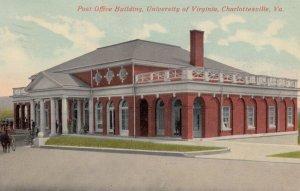 CHARLOTTESVILLE , Virginia , 1900-10s ; Post Office Building , University of ...