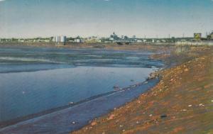 The World-Famous Tidal Bore near Moncton, New Brunswick,  Canada,  40-60s