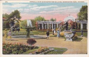 Pergola Near Administration Building Washington Park Chicago Illinois