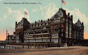 Hotel Chamberlain, Old Point Comfort, Virginia, Early Postcard, Unused