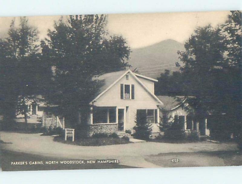 Excellent 1930S Parkers Cabins Motel North Woodstock Near Lincoln Home Remodeling Inspirations Basidirectenergyitoicom
