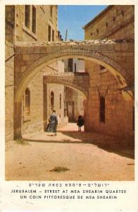 Israel Jerusalem Street at Mea Shearim Quarter, Coin Pittoresque de Mea Shearim