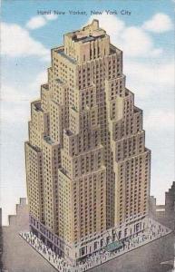 New York City Hotel New Yorker 1951