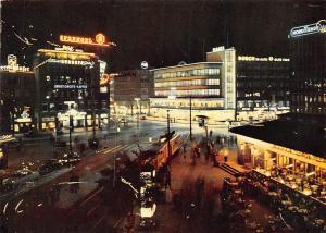 Hannover Zentrum Cafe am Kroepcke Strasse Coffee Night view Bosch im Auto