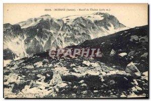 Old Postcard Modane Savoie Massif of Tabor