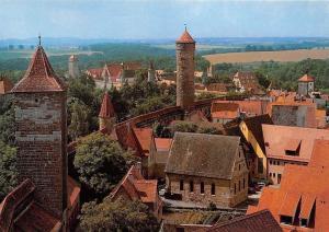 Rothenburg ob der Tauber Blick vom Roederturm Towers General view