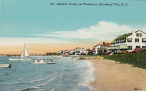 MOREHEAD CITY , NC , 1910-30s ; Summer Homes on Waterfront