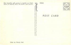 Golf Course TWAIN HARTE Tuolumne County, CA c1950s Vintage Postcard