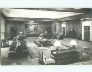 1930's rppc CHRISTIAN SCIENCE PUBLISHING RECEPTION ROOM Boston MA i8291