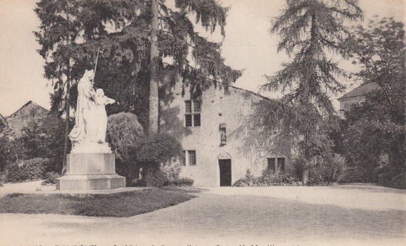 DOMREMY (Meuse), France,  1900-10s ; La Maison de Jeanne d'Arc et Statue (de ...