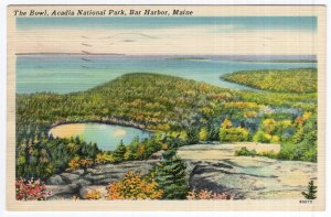 Bar Harbor, Maine, The Bowl, Acadia National Park