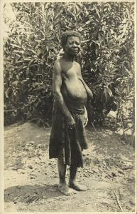 Native African Woman (1920s) RPPC
