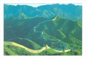 Great Wall of China, 80-90s   at Badaling in its Summer