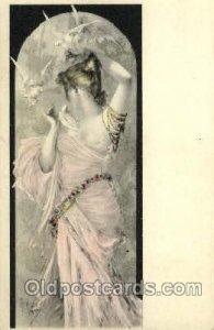 Artist Mary Golay Postcard Post Card unused