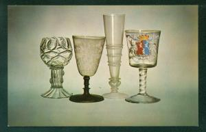 Corning Glass Museum English Goblet Drinking Vessels New York NY  Postcard