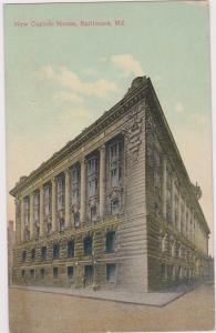 BALTIMORE, Maryland; New Custom House , 1909
