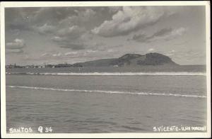 brazil, SANTOS, S. Vicente, Ilha Porchat (1930s) RPPC