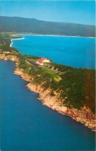 Ingonish Nova Scotia~Cape Breton~Keltic Lodge Summer Resort Aerial View~1950s