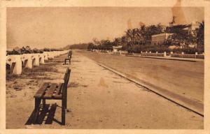 Benin Cotonou - La Marina postcard