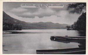 Vermont Lake Dunmoore Looking South From Moosalamoo Dexter Press