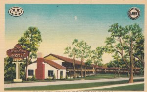EXCELSIOR SPRINGS, Missouri,1930-1940s ; The Monterey Motel