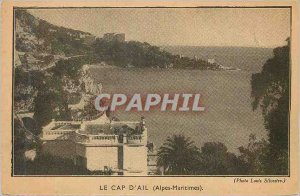 Postcard The Old Beausoleil Alpes Maritimes