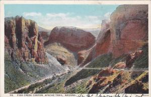 Arizona Apache Trail Fish Creek Canyon Curteich