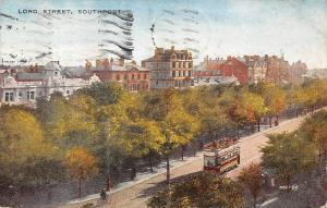 Southport, Lord Street, Bus, Tram 1930