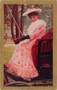 Hats Post Card High Stepper 1909