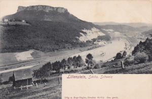 SWITZERLAND, 1900-1910's; Lilienstein, Sachs
