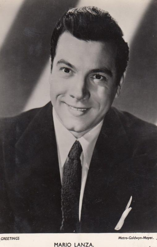 Mario Lanza Old MGM Official Vintage Portrait Photo