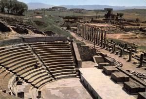 Turkey Bergama The Theatre of Asclepion and The North Porch Postcard