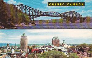 Quebec Bridge Montreal Quebec Canada