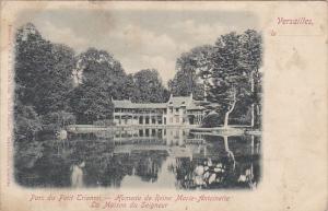 France Versailles Parc du Petit Trianon Hameau de Reine Marie-Antoinette La M...