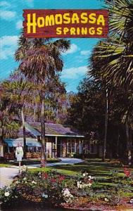 Florida Homosassa Springs The Garden Of The Springs At Homosassa Springs