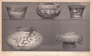 Greek Minoan Greece Art Vases Old Sculpture Pottery Vase Postcard