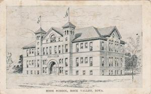 ROCK VALLEY , Iowa ; High School , PU-1913