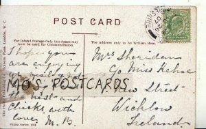 Genealogy Postcard - Sheridan - 1 New Street - Wicklow - Ireland - Ref 9050A