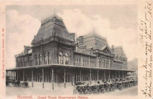 Grand Trunk Bonaventure Train Station, Montreal, Canada, Postcard, Used in 1905