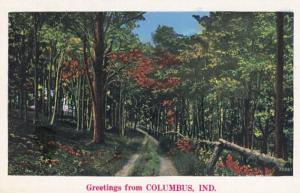 Indiana Greetings From Columbus