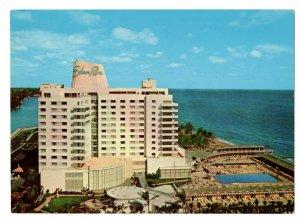 Jumbo, Eden Rock Hotel, Miami Beach, Florida  Vintage 6.5 X 9. inch Postcard
