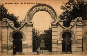 CPA ASNIÉRES-Clichy Le Cimetiére des Chiens (413547)