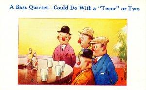 Humor - A Bass Quartet